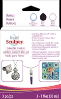 Sculpey Liquid Bakeable Medium - Basics Set