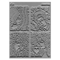 Lisa Pavelka Texture Stamp - About Face
