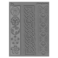 Lisa Pavelka Texture Stamp - Ethnic Borders