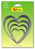 #36503 Makins Clay Cutters- 4 Piece Set - Heart