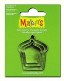 #36027 Makins Clay Cutters, Cupcake