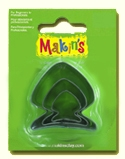 #36014 Makins Clay Cutters, Fish