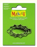 #36028 Makins Clay Cutters, Holly Leaf
