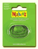 #36005 Makins Clay Cutters, Oval