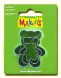 #36011 Makins Clay Cutters, Teddy Bear