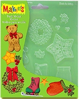 Makins Push Mold Christmas Decor