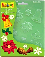 Makins Push Mold Christmas Nature