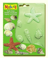 Makins Push Mold Sea Shells