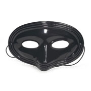 Black Plastic Mask