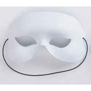 White Quarter Face Mask