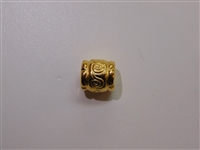 13x12mm Athenian Gold Washed