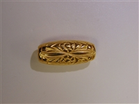 25x11mm Babylonian Gold Washed