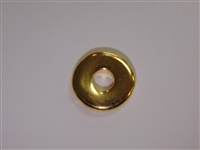 20mm Donut Gold Washed