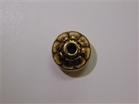 16x10mm Tunisian Antique Gold Washed