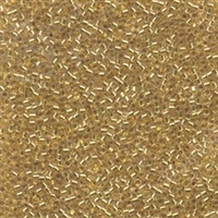 DB033 Gold Lined - Miyuki Delica Seed Beads - 11/0