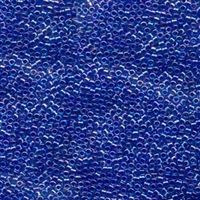DB063 Lined Blue Violet AB - Miyuki Delica Seed Beads - 11/0