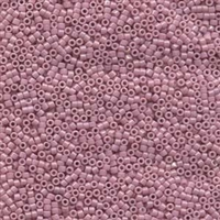 DB210 Opaque Old Rose Luster - Miyuki Delica Seed Beads - 11/0