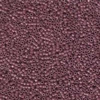 DB265 Opaque Mauve Luster - Miyuki Delica Seed Beads - 11/0