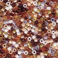 DB-MIX22 Honey Butter - Miyuki Delica Seed Beads - 11/0