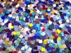 "3/4"" Italian Vitreous Glass Mosaic Tiles - Basic Colors - 1 lb Bags"