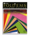 Yasutomo Fold'Ems Origami Paper - Assorted Colors # 4103
