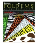 Yasutomo Fold'Ems Origami Paper - Animal Patterns Assortment # 4305