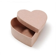 Paper Mache Heart Shaped Boxes