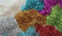 Polyester Glitter - Basic Colors - .008, 8 oz bag