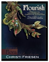 Flourish: Leaf, Flower and Plant Designs - Book One - Flora - Christi Friesen