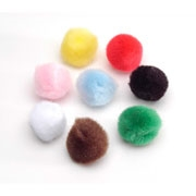 "Darice® Craft Pom Poms - 3"", 4 pcs/Pkg"