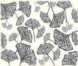 Printmakers Rubber Stamps Ginkgo Leaves