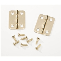 Brass Hinges - 1 inch