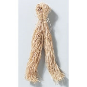 Raffia Sleeve - Fancy Flat - Natural - 2 oz