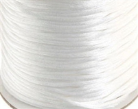 3 mm Rattail Craft Cord - 260 Yard Spool - White