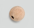Rose Gold Filled Beads - Round Stardust Frosted - 6mm