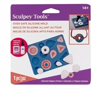 Sculpey Bakeable Mold - Bezel Shapes