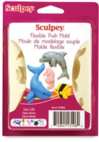 Sculpey Push Mold