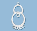 Sterling Silver Chandelier Pendant - Style 15
