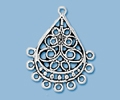 Sterling Silver Chandelier Pendant - Style 3