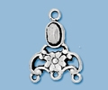 Sterling Silver Chandelier Pendant - Style 5