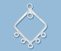 Sterling Silver Chandelier Pendant - Style 7