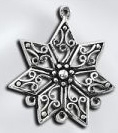 Sterling Silver Chandelier Pendant - Starflower