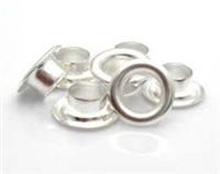 Sterling Silver Bead Grommets - 4mm