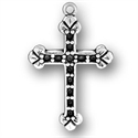 Cross with Beads