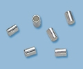 Sterling Silver Crimp Tubes - 2mm x 3mm