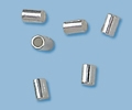 Sterling Silver Crimp Tubes - 3mm x 3mm