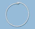 Sterling Silver Beading Hoop - 50mm