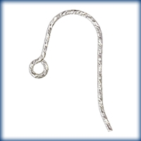 Sterling Silver Sparkle French Earwire