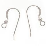 Sterling Silver Flat Fishhook with Ball