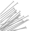 Sterling Silver Headpins - 22 gauge, 3 inch